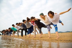 小豆島ビーチヨーガ
