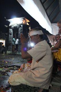 Prayer in Bali